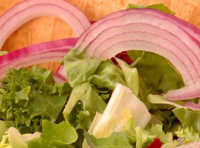 Escarole Salad with Warm Dressing