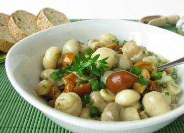 Mushroom and Mustard Seed Salad