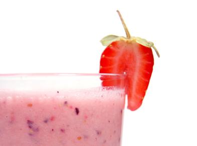 Strawberry Blender Drink