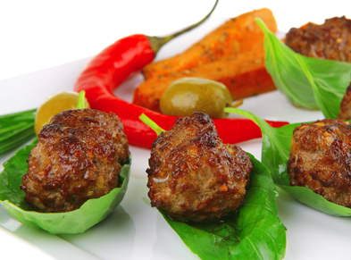 Zarina's Spicy and Zesty Turkey Meatballs