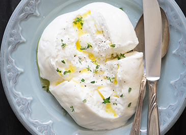 What is burrata cheese?