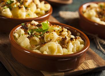Cheddar & Cauliflower Mac 'n Cheese