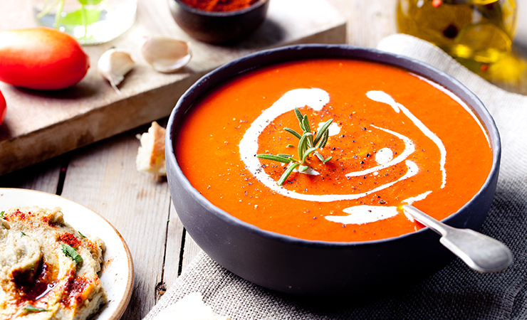 Thai-Spiced Butternut Squash Bisque With Lime and Chilies