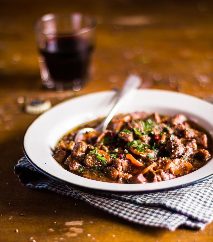 Wine & Dine: Red Wine Beef Stew