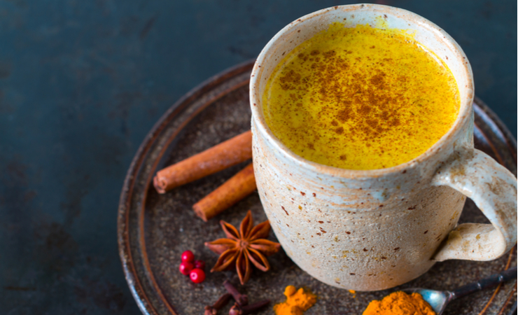 Golden Milk Chai with Turmeric and Ginger