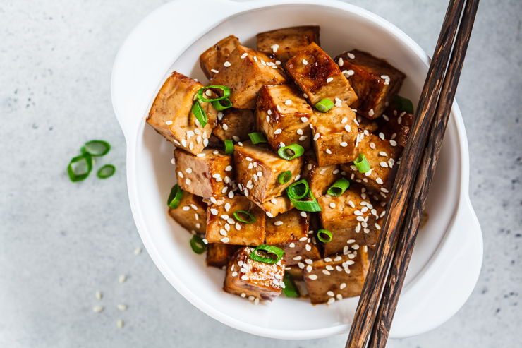 Hanna's Baked Tofu